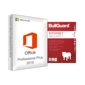Office Professional Plus 2019 + Bullguard Internet Security